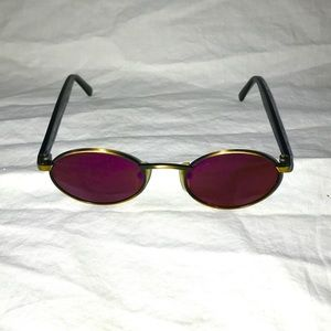 Vintage Revo Sunglasses 962 Purple Violet